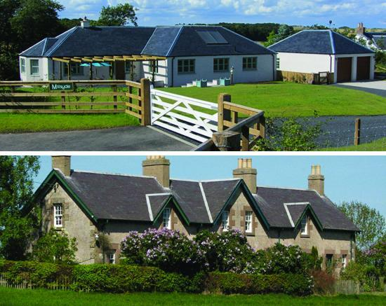 Contemporary Country or Traditional Farm Cottages at Hendersyde - Hendersyde Farm Holiday Cottages, Scottish Borders - Kelso - rentals