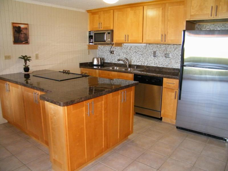 Remodeled with new SS appliances & fully stocked kitchen - BEACHFRONT WalkOut - $125 - MAY Rate - Sandy Beach - Hauula - rentals