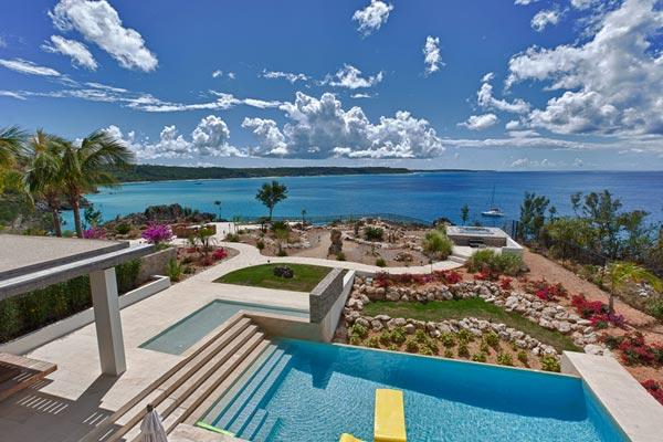 Ocean views on the northern edge of Little Bay. ANI NOR - Image 1 - Anguilla - rentals