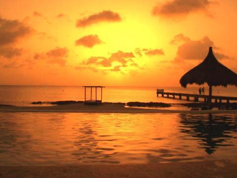 Cozumel Villa Rental - Villa Coralina - Sunset View - Cozumel Luxury Villa Coralina 4 BR Beachfront Pool - Cozumel - rentals