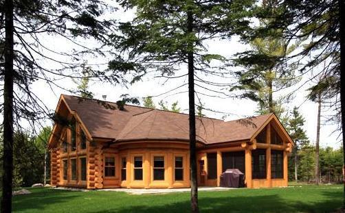 Picture of Cabin - Luxury Quebec Log Cabin - Saint Sauveur des Monts - rentals