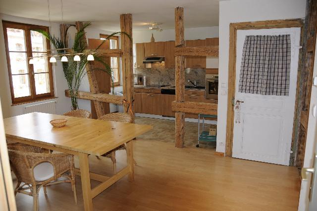"Kitchen and dinning area - ""Au 34"" condo rental on the wine route - Bergheim - rentals"
