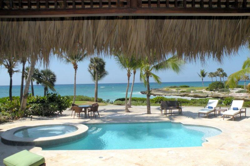 View form living area - CapCana Ocean front villa-best location Punta Cana - Punta Cana - rentals