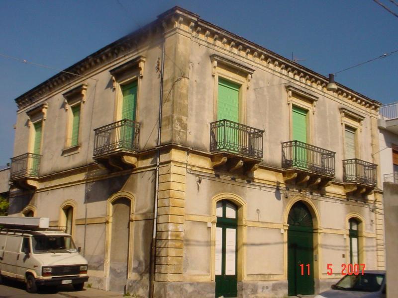 prospetto - 4. AITEDDA home building 1920 in Riposto (CATANIA) - Riposto - rentals
