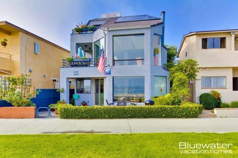 Mission Beach San Diego Vacation Rental - Exterior - Bayside Breeze - Mission Bay Front Vacation Rental - Pacific Beach - rentals