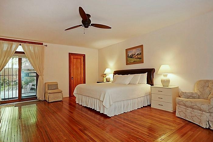 Garden Bedroom - Duplex Apartment with Old World Charm - New York City - rentals