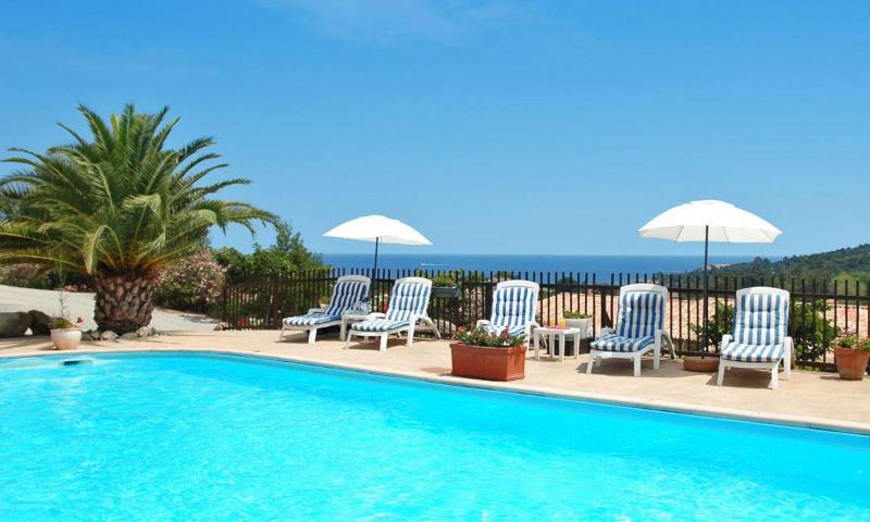 Swimmingpool - Corse Sud 3 bedrooms villa Residence Serenamore. - Favone - rentals