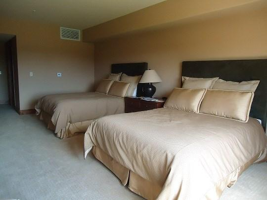 Oversized hotel room with lots of space and two queen beds - Lodge 204 - Two Queen Beds. Sleeps 4. WIFI. Refrigerator. - Tamarack Resort - rentals