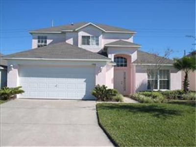 Front view - Westridge The Manors 4 bedroom private pool home Gated community - Davenport - rentals