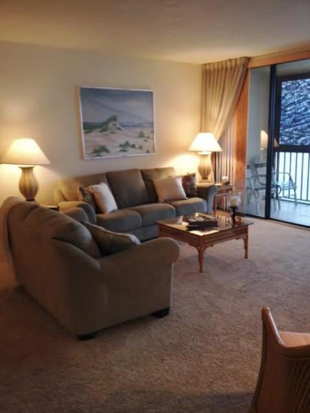 Comfortable living area - Ambassador #1004  Gulf-front condo on Bonita Beach - Bonita Springs - rentals
