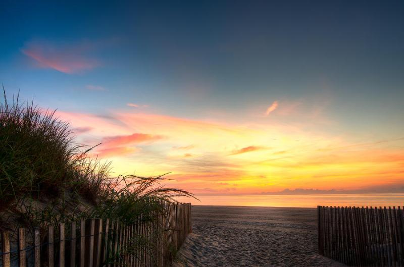 Sunrises from you master suite over the beach are truly breathtaking! - Sunrise Sanctuary - Virginia Beach - rentals