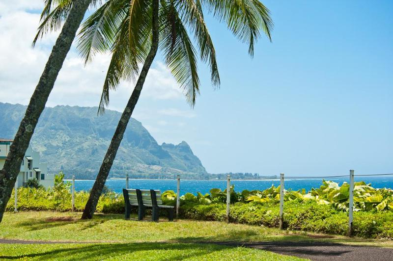 View of Bali Hai just across and down the street - Hanalei Bay Villas #10 - A Glimpse Into Paradise - Princeville - rentals