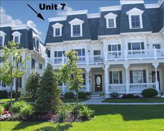 Property 21992 - Great Condo with 4 BR & 5 BA in Cape May (Cape May 4 BR-5 BA Condo (Sunset Daze 21992)) - Cape May - rentals