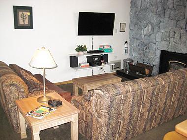 Living Room - Sherwin Villas - SV37D - Mammoth Lakes - rentals
