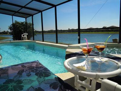 BLUE HORIZON 5-Bed 5-bath Not Overlooked Lakeside - Image 1 - Kissimmee - rentals
