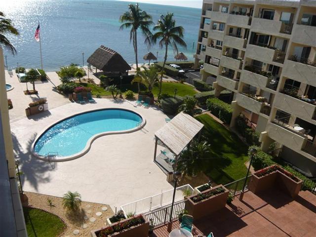 Balcony View - THE PALMS 506 - Islamorada - rentals