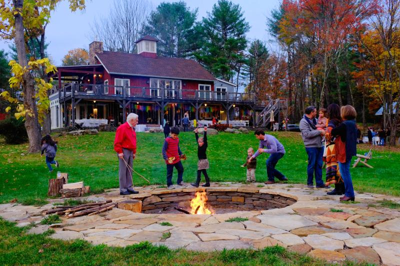 fire pit - Barn on the Pond Barn Style Lodging Woodstock, NY - Saugerties - rentals
