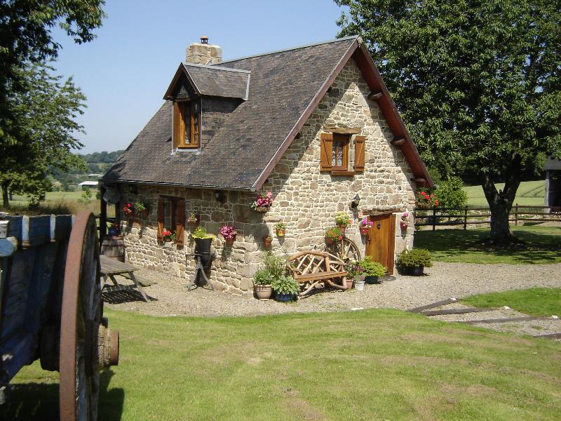 Cherry cottage exterior - Le Champ Sous le Bois Cherry Cottage - Cherence-Le-Roussel - rentals