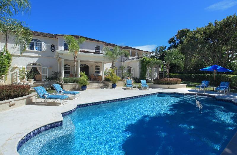 View of Saramanda Villa from the pool - Saramanda - Luxurious villa, Sandy Lane, Barbados - Barbados - rentals