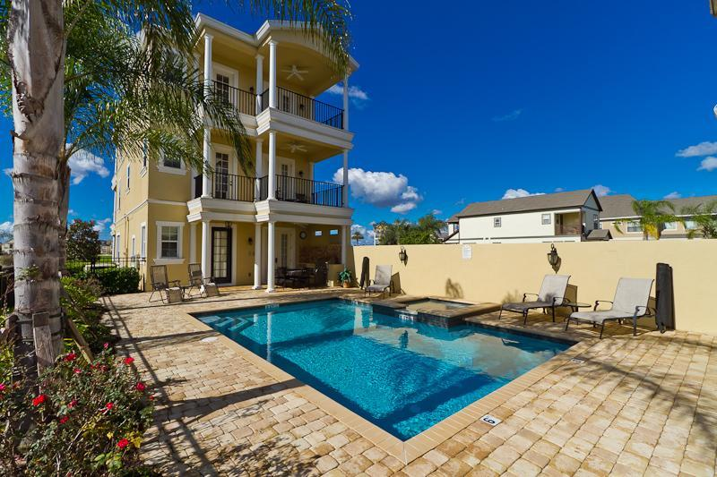 Exclusive 5 Bedroom Golf View Villa at Reunion - Image 1 - Reunion - rentals