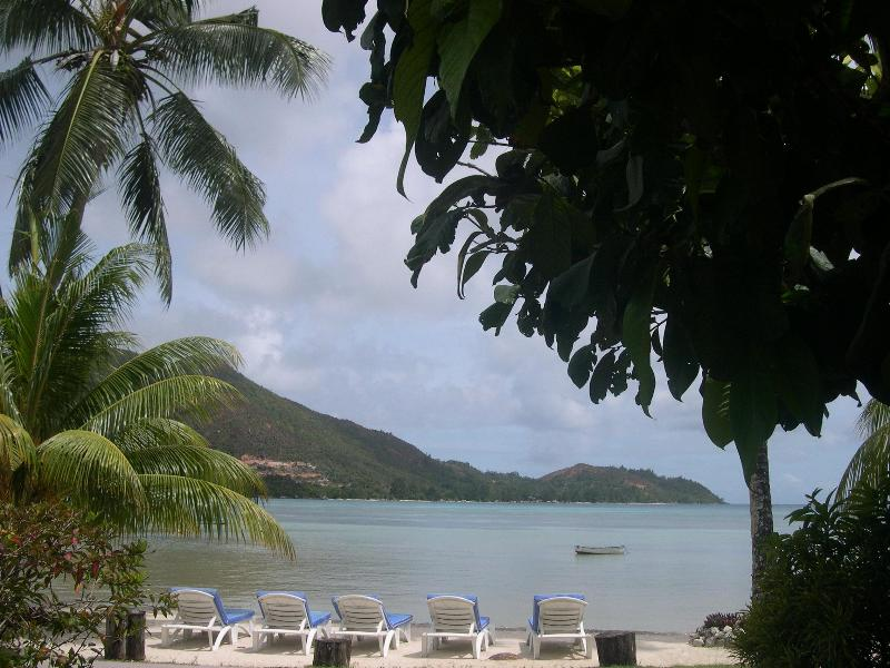 beach-front with beach beds - Seaview Lodge 1 Bedroom Bungalow - Praslin Island - rentals