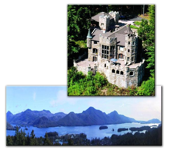 Highlands Castle overlooking Lake George, NY - Highlands Castle - overlooking Lake George, NY - Bolton Landing - rentals