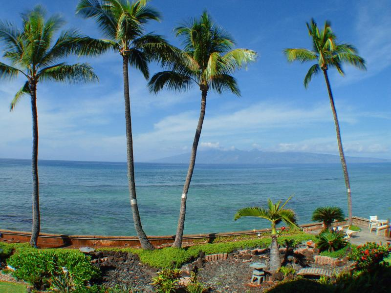 Daytie view from the lanai - West Maui Ocean Front Condo North of Kaanapali - Lahaina - rentals