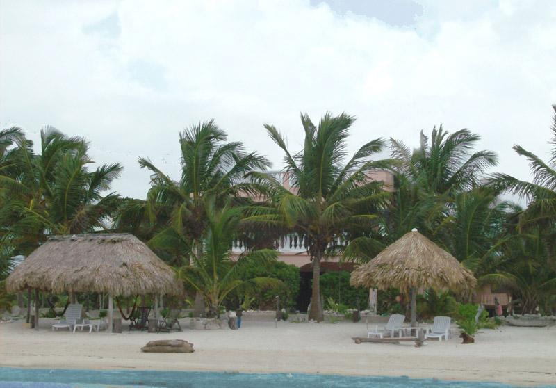 View of Coral Garden from the Water - Coral Garden 2 Spacious Beachfront Condos - Xcalak - rentals