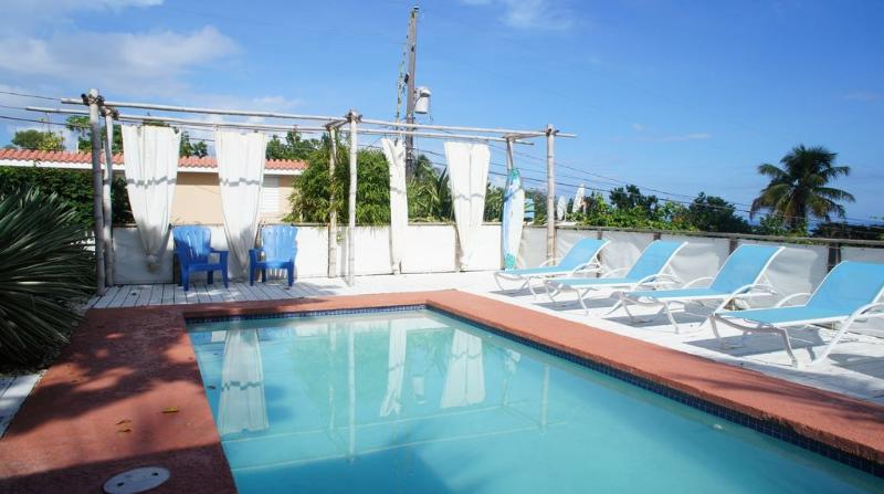 Pool - Apt #6 @Surf House Apartments in Rincon, PR - Rincon - rentals
