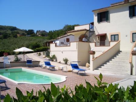VILLA COLLINA AND POOL - Spacious Luxury Villa With Pool & Stunning Views - Cellino Attanasio - rentals