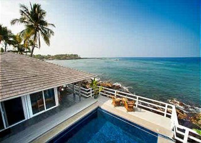 Turtle Rock - Ocean Front Cottage with pool - Image 1 - Keauhou - rentals