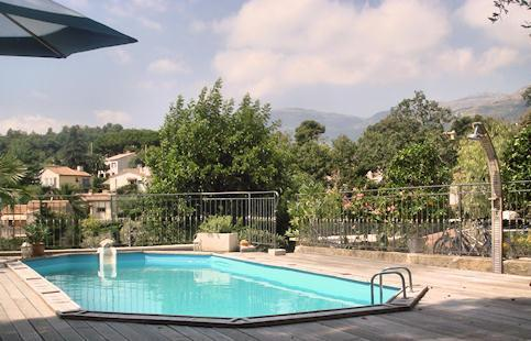 Pool area - Vence lumineux quiet Holiday Apt. with pool (3) - Vence - rentals