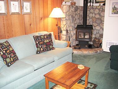 Living Room - Sherwin Villas - SV61G - Mammoth Lakes - rentals