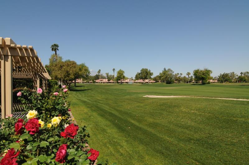 View of Golf Course From Patio - Overlooking 7th Fairway - Property ID 77728 S - Palm Desert - rentals