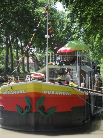 1 B&B cabin aboard  Durandal Barge onCanal du Midi - Image 1 - Villeneuve les Beziers - rentals