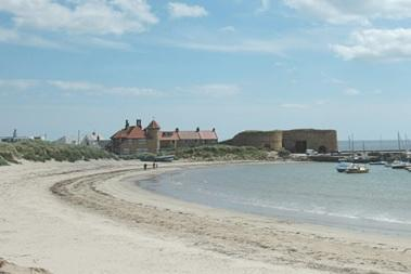 The House Forms Part of Beadnell Harbour