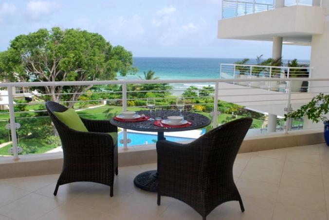 Apt 509, The Condominiums at Palm Beach, Christ Church, Barbados - Beachfront - Image 1 - Hastings - rentals