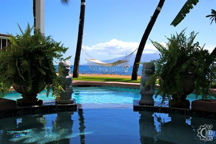 Lahaina Oceanfront Estate - Image 1 - Lahaina - rentals