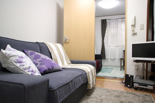 Living Room with TV, DVD player, Books, etc - 3Bedroom House Roppongi 10min Shibuya - Tokyo - rentals
