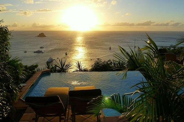 Nestled in the hillside of Colombier offering spectacular ocean views WV CLO - Image 1 - Colombier - rentals