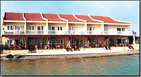 Swim in the ocean and see the condo - Aruba Beach Chalet5 - Savaneta ON BEACH 2 bd Condo - Savaneta - rentals