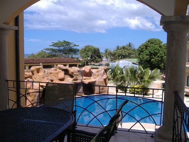 View From Balcony - Families, Downtown@Beach, WiFi, Sleeps 7, Pool - Tamarindo - rentals