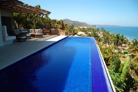 Infinity Pool - Casa Canto Del Mar - San Pancho - rentals