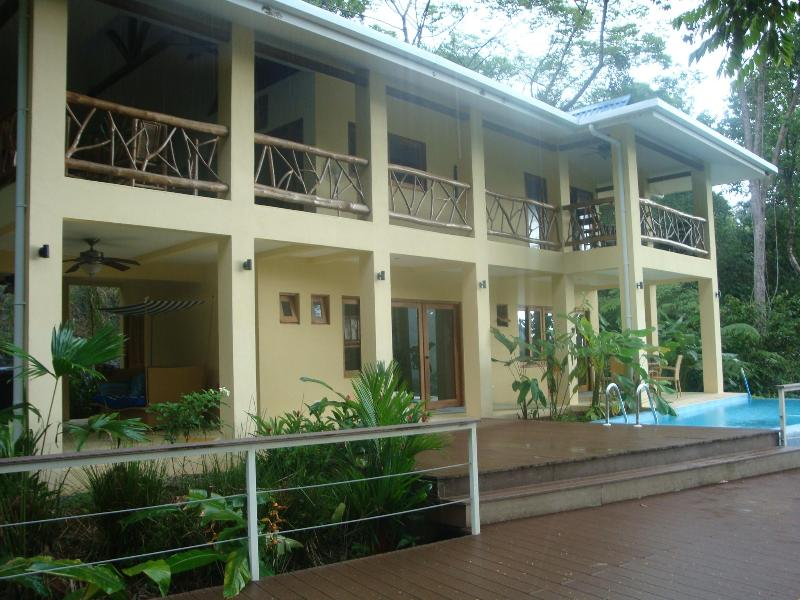 the calm late in the afternoon ! - sleeps 9 people Costa Rica best Casa de Mono Locos - Playa Matapolo - rentals