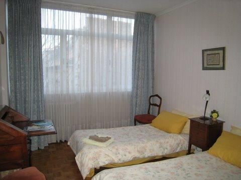 Visitors Bedroom - Parisian Apartment at Au Jasmin in France - Paris - rentals