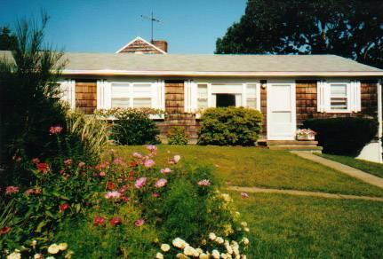 Front of unit - Vineyard Haven private end unit condo - Vineyard Haven - rentals