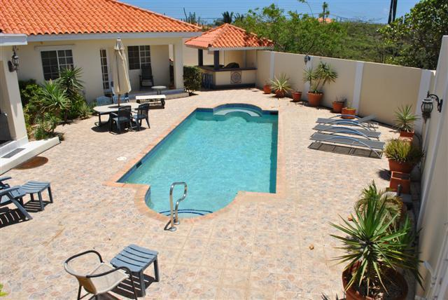 Pool Area - Amazing 4 bedrm Villa + Pool close to Arashi Beach - Noord - rentals