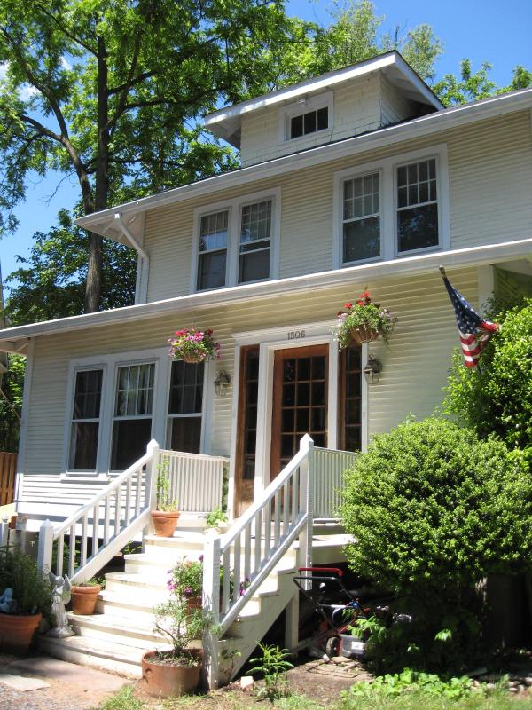 Front Facade of Historic 1923 Sears Home - 1923 Sears Home!  Historic Hideaway 20 Mins to DC -Easy Access to DC - Washington DC - rentals
