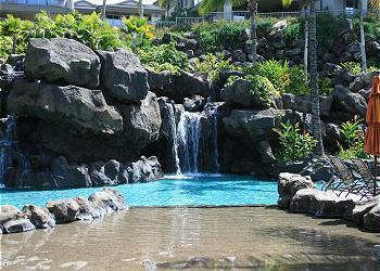 Pool with sany beach - Wailea Luxury Villas, 6-8 Occupancy, Beach Pool - Wailea - rentals