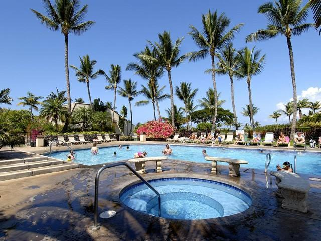 Front of property pool and hot tub - Maui Kamaole Best Family Value, Walk to the Beach! - Kihei - rentals